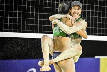 Vôlei de praia: Talita e Taiana decidem título contra canadenses   Divulgação