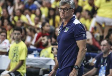 Técnico da seleção de vôlei, Renan testa positivo para Covid-19 | Wander Roberto | Inovafoto | CBV