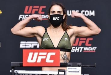 Brasileira extrapola limite de peso e luta no UFC é cancelada |