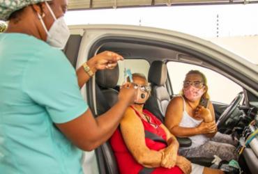 Vacinação contra Covid-19 está suspensa neste domingo em Lauro de Freitas