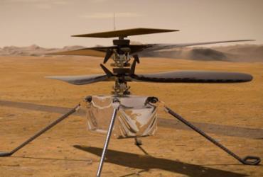 Helicóptero da Nasa faz voo histórico em Marte | Divulgação | Nasa