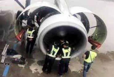 Após passageiro jogar moedas em turbina de avião, voo é cancelado na China | Repodução