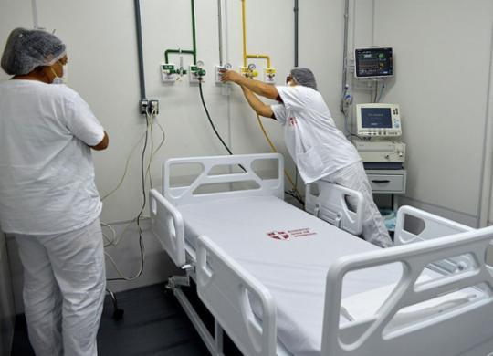 Bahia zera fila de regulação de pacientes intubados em UPAs | Shirley Stolze | Ag. A TARDE | 12.5.2020