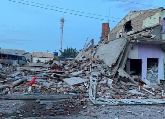 Duas pessoas morrem após explosão de casa de venda de fogos de artifício | Divulgação | Prefeitura de Crisópolis