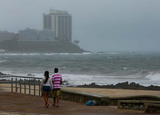 Previsão é de chuva intensa na capital baiana nos próximos dias | Rafael Martins | Ag: A TARDE | 3.11.2020