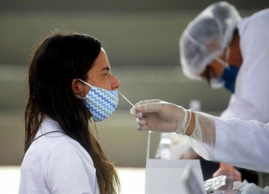 Bahia ultrapassa 870 mil casos confirmados de Covid-19: total de mortos chega a 17.574 | Felipe Iruatã | Ag A TARDE