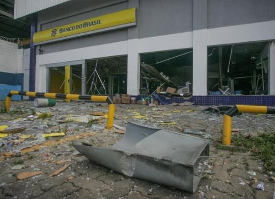 Ataques a bancos na Bahia aumentam mais de 400% no período de janeiro a abril | Olga Leiria | Ag. A TARDE