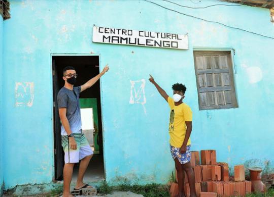 Centro Cultural Mamulengos atrai jovens e pede ajuda   Eduardo Machado   Agência Mural