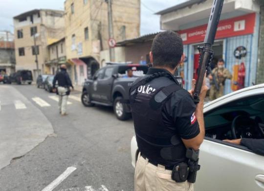 Ex-policial e mais três são presos em operação na Boca do Rio | Divulgação I Polícia Civil