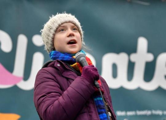 Greta Thunberg critica Bolsonaro: 'Tem uma responsabilidade enorme' | John Thys | AFP