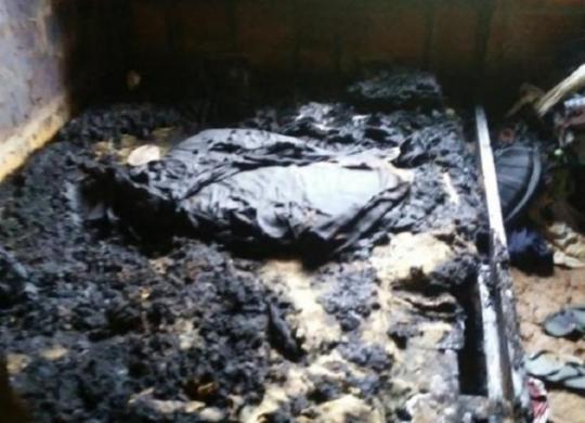 Acusada de incendiar casa e provocar morte do sogro no sul da Bahia segue foragida | Reprodução | Arquivo pessoal