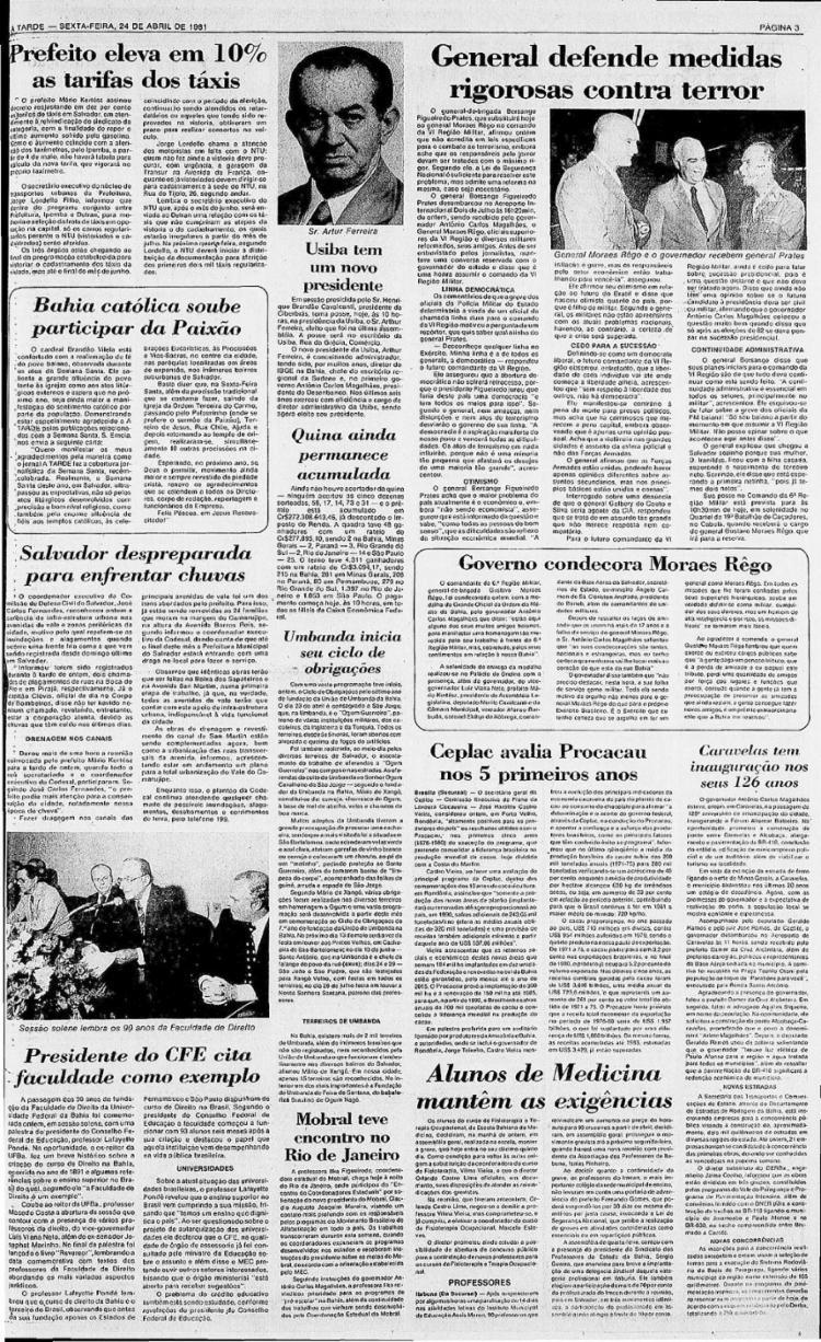 Em 1981, reportagem destacou celebrações organizadas por centros de umbanda || 24.4.1981