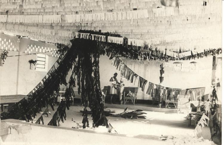 Ilê Axé Opô Afonjá é um dos terreiros que celebram o Olorogun. - Foto: Data: 16/1/1974. Foto: Cedoc A TARDE