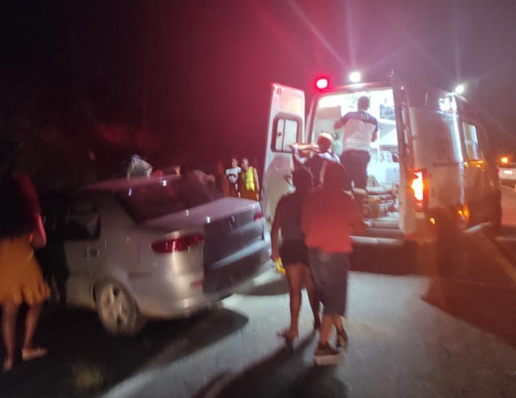 Acidente aconteceu na noite do domingo, 25 | Foto: Reprodução | Giro Ipiaú - Foto: Reprodução | Giro Ipiaú