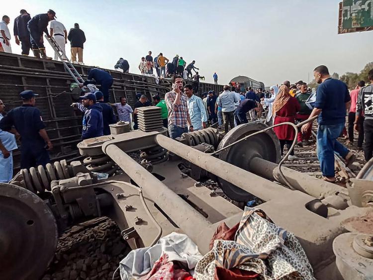 Acidente aconteceu em uma localidade egípcia ao norte do Cairo neste domingo, 18   Foto: AFP - Foto: AFP