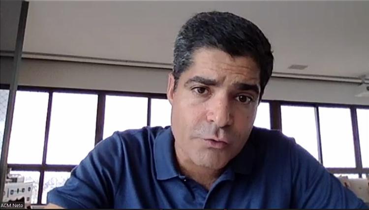 Em convenção nacional da Juventude, ex-prefeito de Salvador diz que partido quer distância de extremismos em 2022. Foto: Reprodução Youtube - Foto: Reprodução Youtube