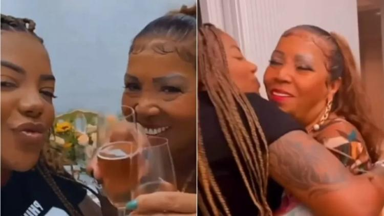 A própria cantora compartilhou a celebração nas redes sociais | Foto: Reprodução | Instagram - Foto: Reprodução | Instagram