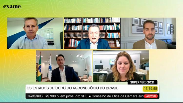 Evento acontece de forma virtual ao longo do dia com debates voltados ao agronegócio brasileiro | Foto: Reprodução - Foto: Reprodução