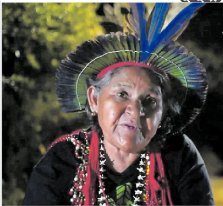 Mayá é uma das lideranças da comunidade Pataxó Hãhãhãe, do município de Pau Brasil - Foto: Divulgação 