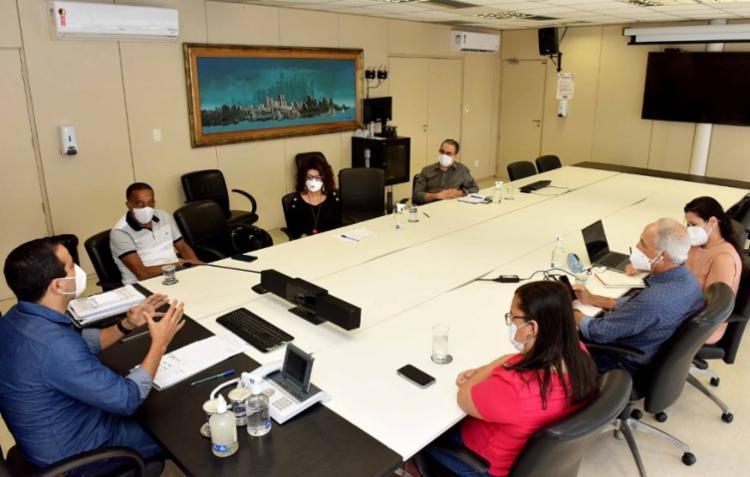 A entidade reafirmou que só aceita o retorno das aulas presenciais com a imunização de todos os trabalhadores e trabalhadoras em Educação. Foto: Divulgação APLB - Foto: Foto: Divulgação APLB