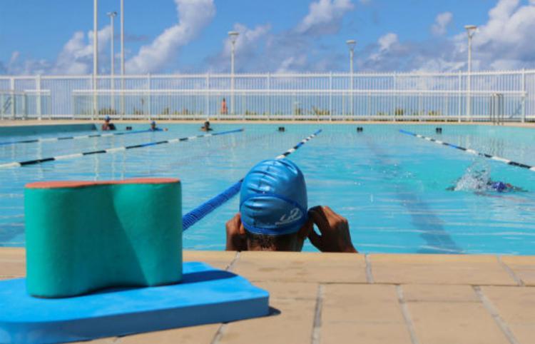 Retorno contempla apenas os atletas de alta performance que treinam no local   Foto: Bruno Concha   Secom - Foto: Bruno Concha   Secom