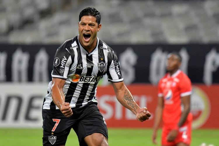 Hulk entra no segundo tempo e marca os gols da vitória   Foto: Washington Alves   AFP - Foto: Washington Alves   AFP
