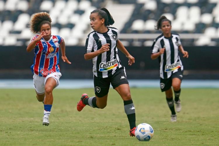 Tricolor ficou no empate sem gols com equipe carioca - Foto: Vitor Silva/ @botafogo