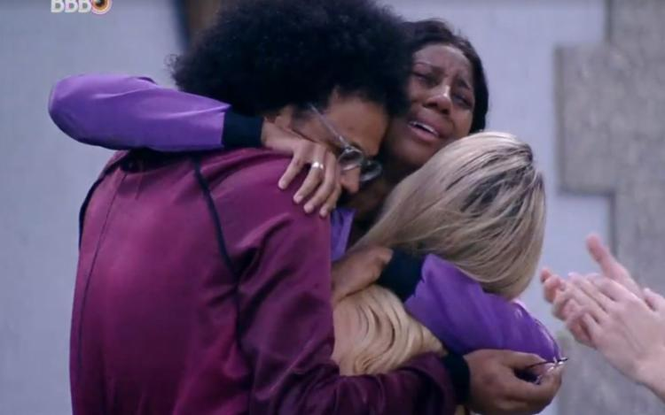 Camilla comemora vitória com João e Viih Tube | Foto: Reprodução | Globoplay - Foto: Reprodução | Globoplay