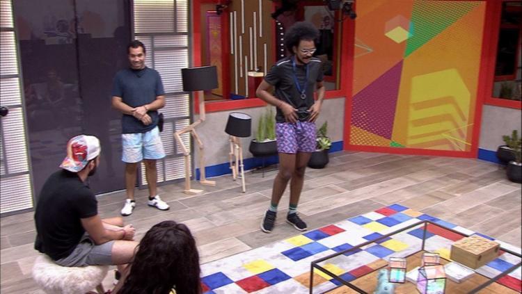 João Luiz escolhe Pocah e Arthur para Castigo do Monstro I Foto: Reprodução I Globo - Foto: Reprodução Globo