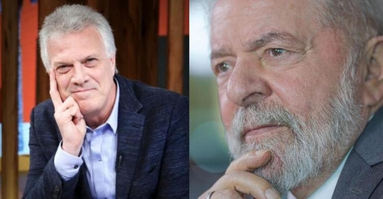 Segundo o apresentador, Lula disse topar dar entrevista, mas 'pedido' não foi aceito | Foto: Reprodução - Foto: Reprodução