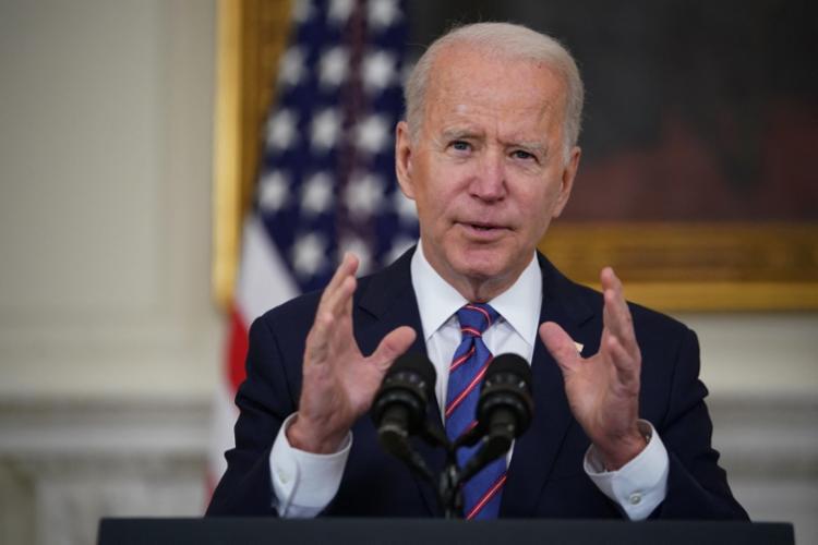 Biden conversou com a família de Floyd por telefone - Foto: Mandel Ngan | AFP
