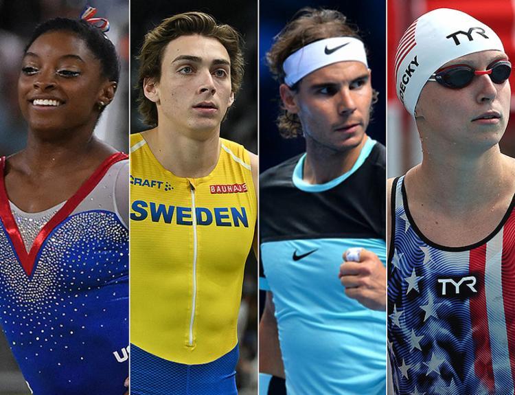Atletas apontados como as estrelas dos Jogos de Tóquio | Foto: AFP - Foto: AFP