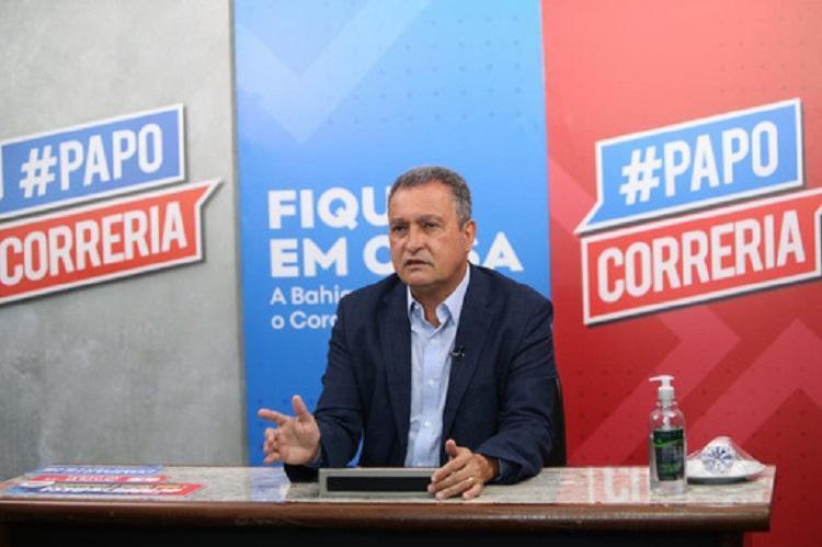Governador baiano foi citado pelo senador Marcos Rogério (DEM-RO) apesar de estado da Bahia não fazer parte de investigações da CPI - Foto: Divulgação | GOV-BA