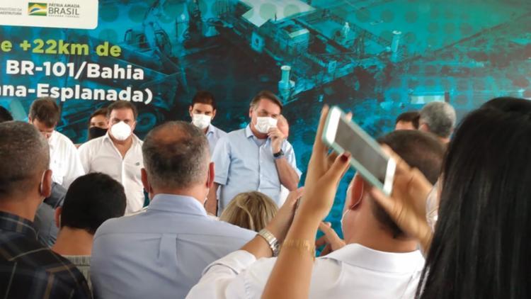Bolsonaro afirmou que governadores de oposição foram responsáveis pelo desemprego no país | Foto: Rodrigo Tardio - Foto: Rodrigo Tardio