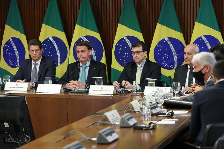 O presidente disse em discurso na Cúpula dos Líderes sobre o Clima que o Brasil está aberto à cooperação internacional   Foto: Marcos Correa   AFP - Foto: Marcos Correa  AFP