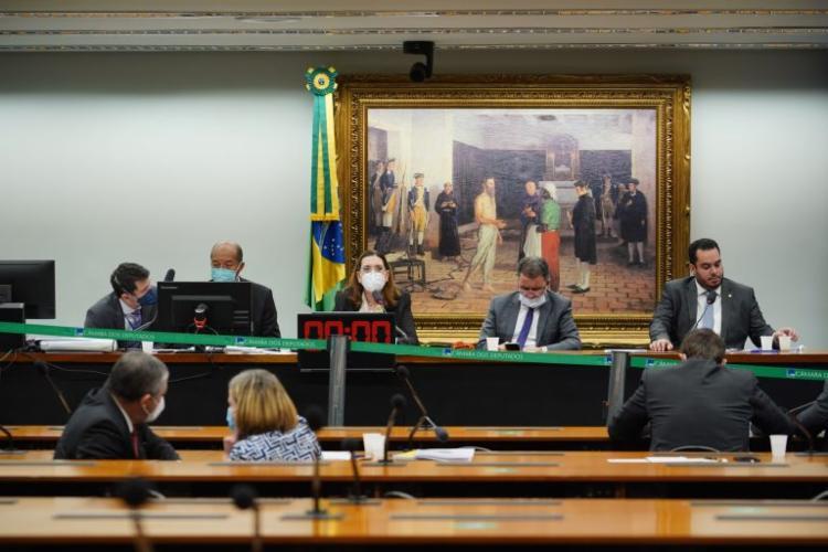 Deputado Delegado Éder Mauro afirmou que a deputada Maria do Rosário (PT) precisaria de um médico | Foto: Pablo Valadares | Câmara dos Deputados - Foto: Pablo Valadares | Câmara dos Deputados