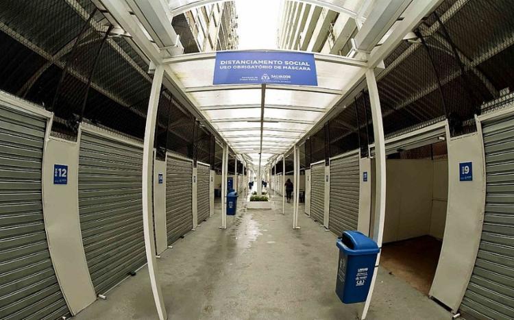 Estrutura possui 34 boxes, sendo que cada um será ocupado pelos ambulantes cadastrados | Foto: Valter Pontes | Secom - Foto: Valter Pontes | Secom