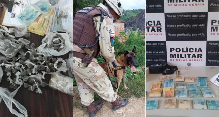 Além de seis criminosos capturados, 403 porções de drogas foram apreendidas   Foto: Divulgação   SSP - Foto: Divulgação