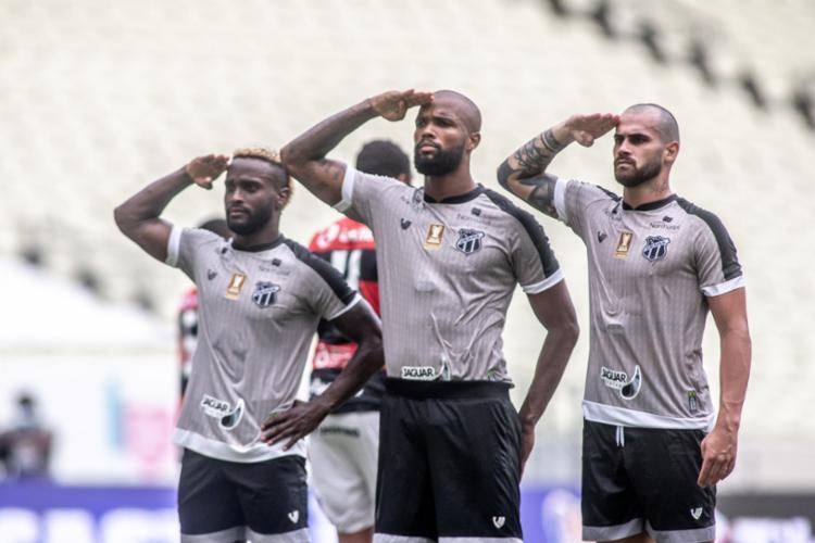 O zagueiro Messias marcou o segundo gol do Ceará em jogo no Castelão - Foto: Divulgação