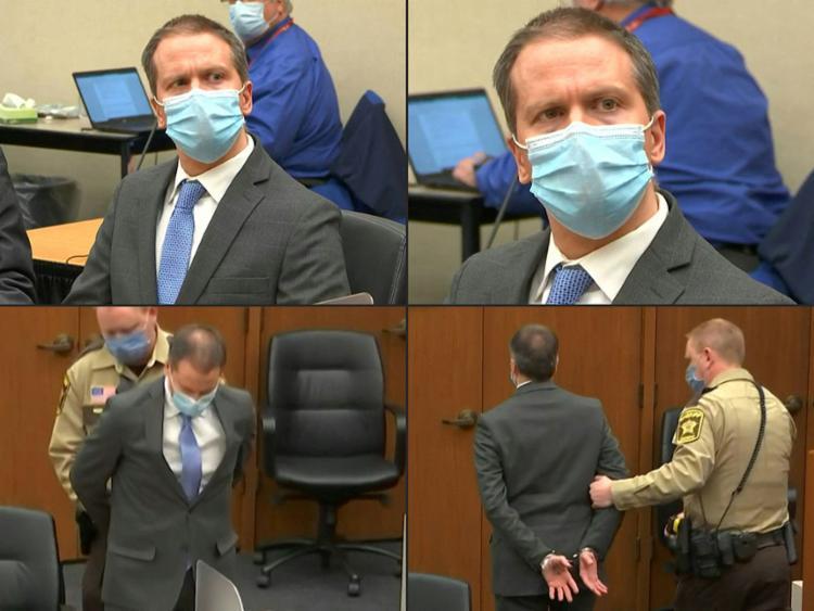 Em decisão unânime, júri popular considerou Chauvin culpado em todas as acusações | Foto: Court TV | AFP - Foto: Court TV | AFP