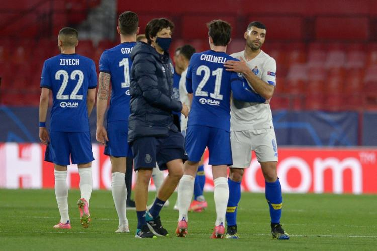 O time inglês vai enfrentar agora o vencedor do duelo entre Liverpool e Real Madrid | Foto: Cristina Quicler | AFP - Foto: Cristina Quicler | AFP