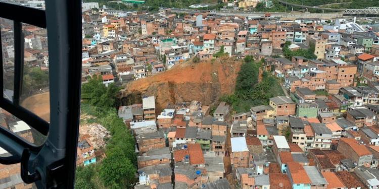 Sirenes foram acionadas em áreas de risco de Salvador | Foto: Divulgação | Codesal - Foto: Divulgação | Codesal