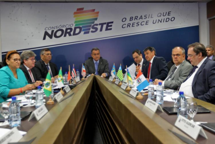O documento será entregue na quinta-feira, 22, assinado pelo Consórcio Nordeste. Foto: Consórcio Nordeste - Foto: Foto: Consórcio Nordeste