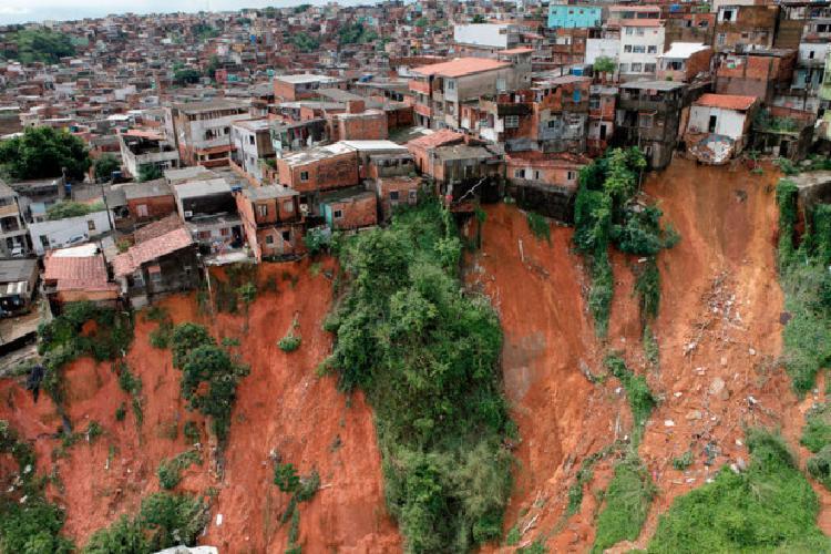 Com 663 registros, as aças de deslizamento de terra lideram as solicitações | Foto: Manu Dias | GOV-BA - Foto: Manu Dias | GOV-BA