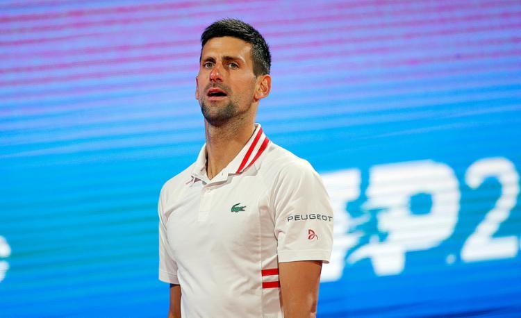 O líder do ranking ATP já havia falado sobre esta possibilidade depois de perder nas semifinais do torneio de Belgrado   Foto: Pegja Milosavkjevic   AFP - Foto: Pegja Milosavkjevic   AFP