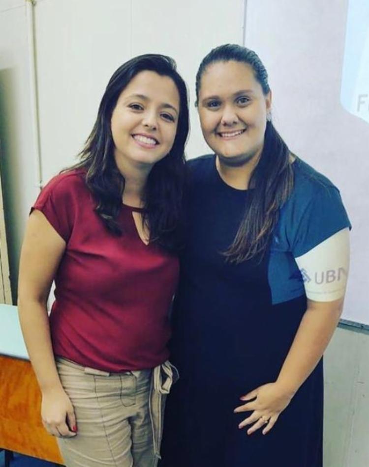 As responsáveis pelo artigo são as professoras Andressa Costa Ottoni Matheus e Mariza Teixeira Vieira Azevedo, Mestra em Educação | Foto: Divulgação - Foto: Divulgação