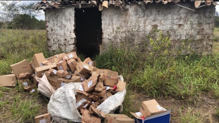 Medicamentos foram encontrados em casa na zona rural da cidade   Foto: Divulgação   SSP - Foto: Divulgação   SSP