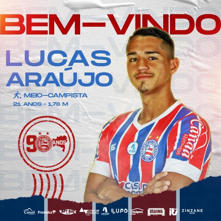 Jogador chega em definitivo para o Esquadrão | Foto: Divulgação | E.C.Bahia - Foto: Divulgação | E.C.Bahia