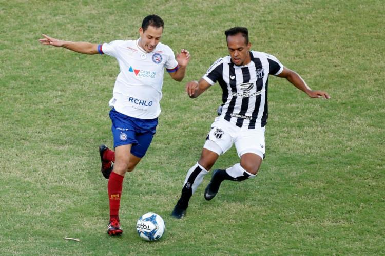 Além de não vencer o Vozão desde 2018, a equipe do Bahia ainda foi derrotada nas duas únicas vezes em que disputou o título contra o Alvinegro   Foto: Felipe Oliveira   EC Bahia - Foto: Felipe Oliveira   EC Bahia