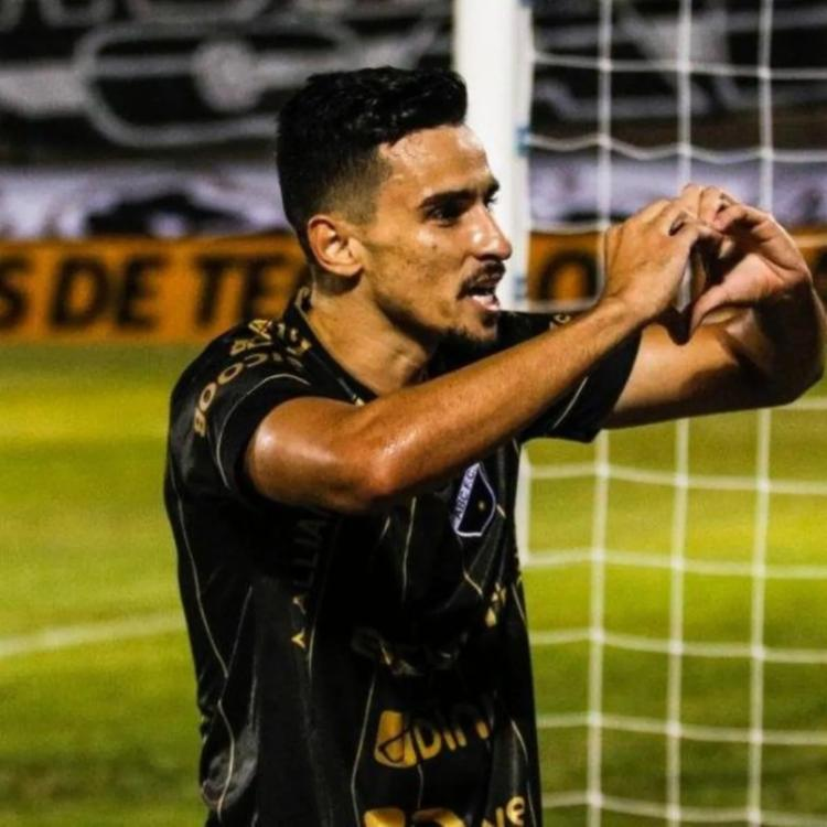 Jogador é o artilheiro do ABC no ano, com 6 gols | Foto: Rennê Carvalho | ABC - Foto: Rennê Carvalho | ABC